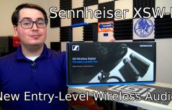 Sennheiser XSW-D Microphones
